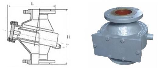 夹套保温阻火器 -夹套保温阻火器结构图