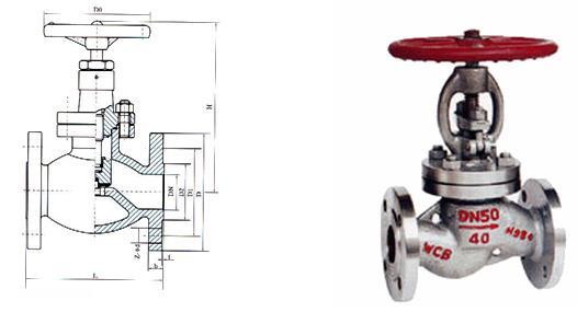 日标液化气截止阀 -日标液化气截止阀结构图
