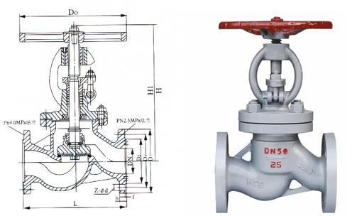燃气专用截止阀 -燃气专用截止阀结构图